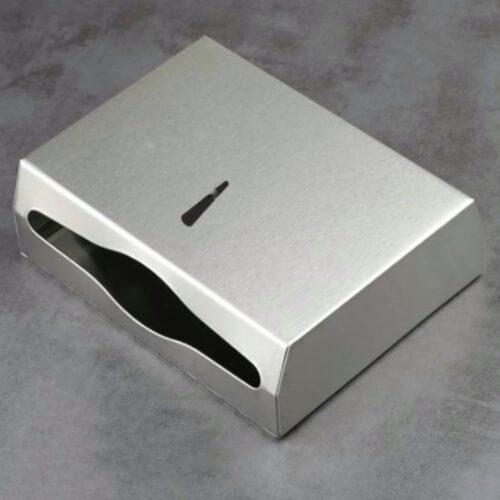 Dispenser satinat inox prosoape pliate hartie 200buc