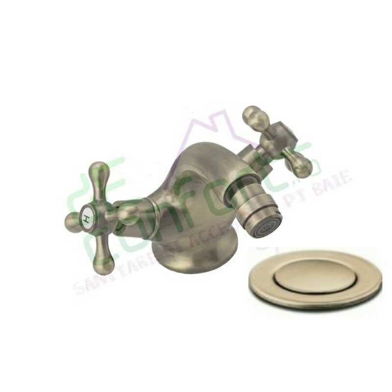 Baterie bideu retro sifon ventil bronz Venice