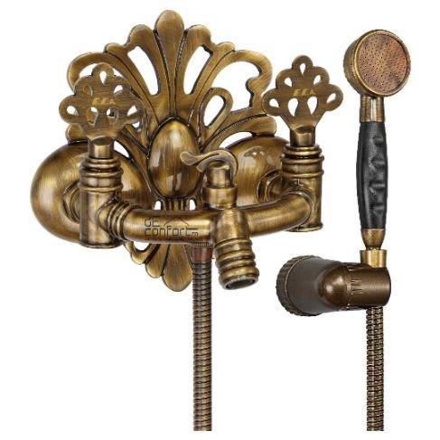 Baterie cada dus bronz autentic Turcia - Ottoman
