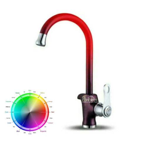 Baterie chiuveta termosensibila Nera Cameleon culoarea se schimba in functie de temperatura apei