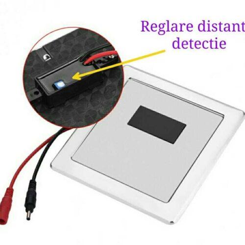 Baterie  senzor pisoar incastrabila – Helvet Uno