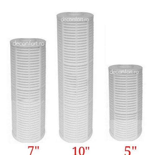 Cartus filtrant lavabill sita impotriva sedimentelor dimensiuni 5,7,10 inch