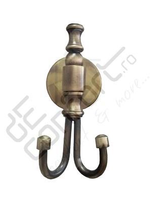 Cuier baie bronz retro ROMA