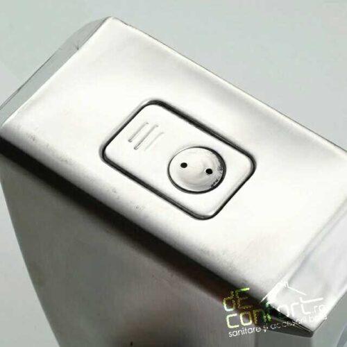 Dispenser detergent lichid 1000ml satinat  capacitate mare inchidere cheie
