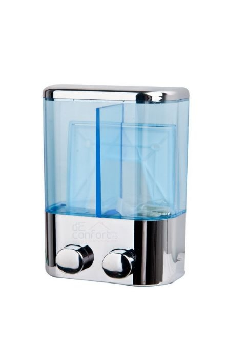 Dispenser dual sapun si gel dus