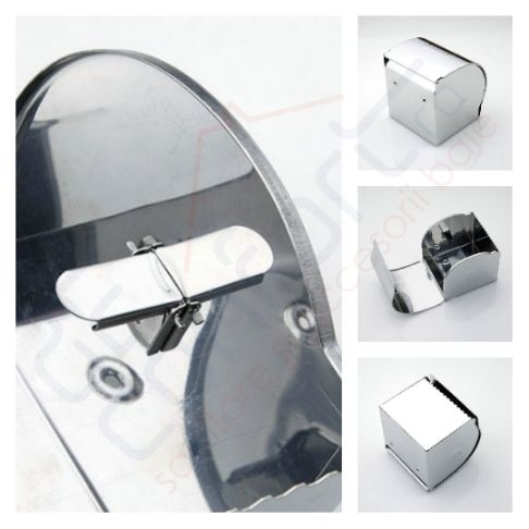 Dispenser inox hartie igienica rola mica