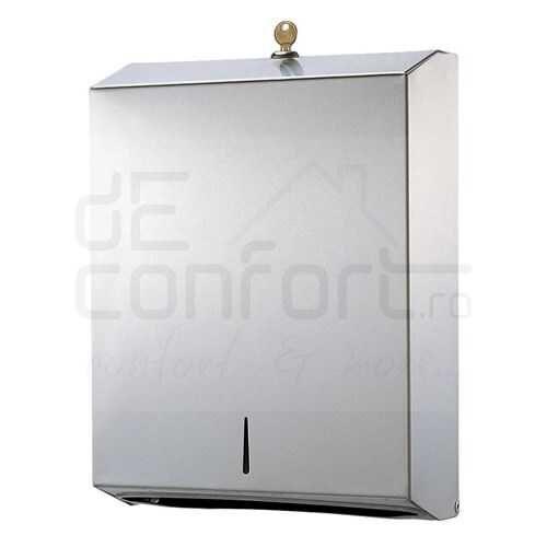 Dispenser prosoape hartie inox MaxiXL-ZZ