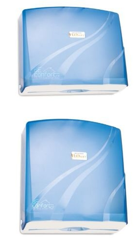 Dispenser prosop hartie pliat 200-300 buc plastic -FloSoft