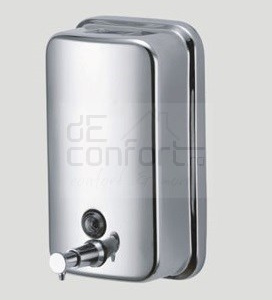 Dispenser sapun inox  cromat 1000 ml – Lucios