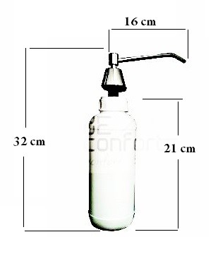 Dispenser sapun lichid 1000ml, incastrabil