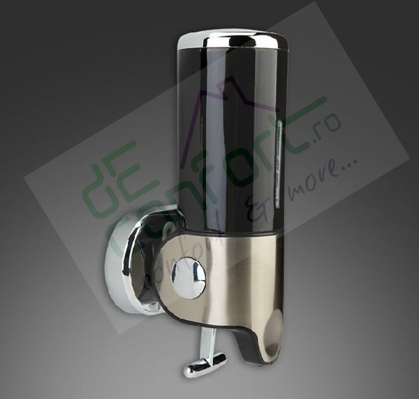 Dispenser sapun lichid Desunse Black