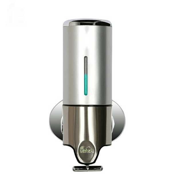 Dispenser sapun lichid Desunse Silver 500ml