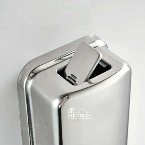 Dispenser sapun lichid inox cromat 500 ml – lucios
