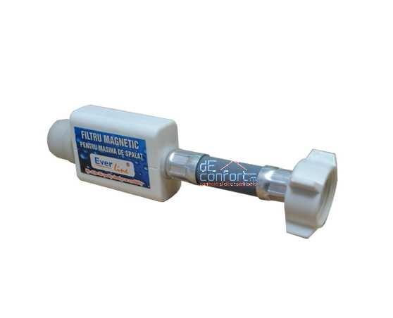 Filtru apa magnetic anticalcar masina spalat cu racord flexibil 3/4