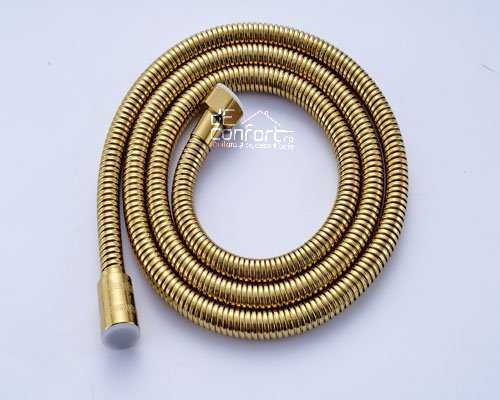 Furtun dus  anichizat 1.5m Gold Antic