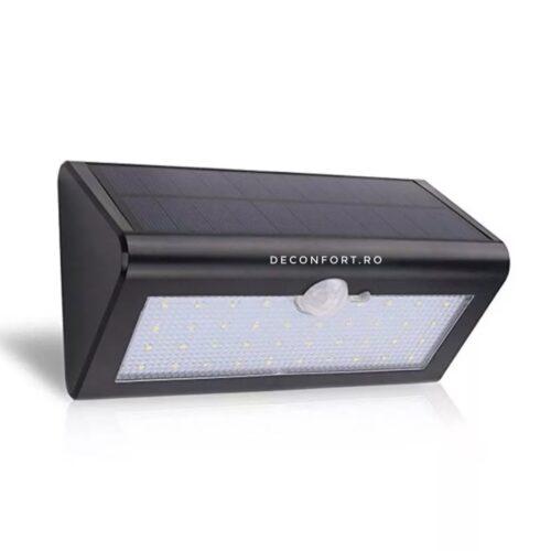 Lampa incarcare solara 48LED SMD cu senzor miscare  iluminat exterior