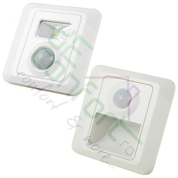 Lampa LED senzor detectie miscare incastrabila