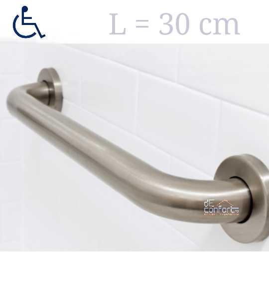 Maner sprijin persoane dizabilitati prindere perete dimensiune 30cm