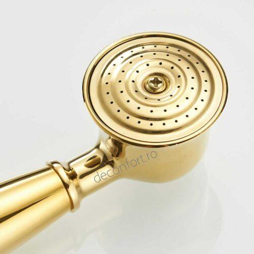 Para dus aurie Gold metalica aspect retro conectare universala Unique