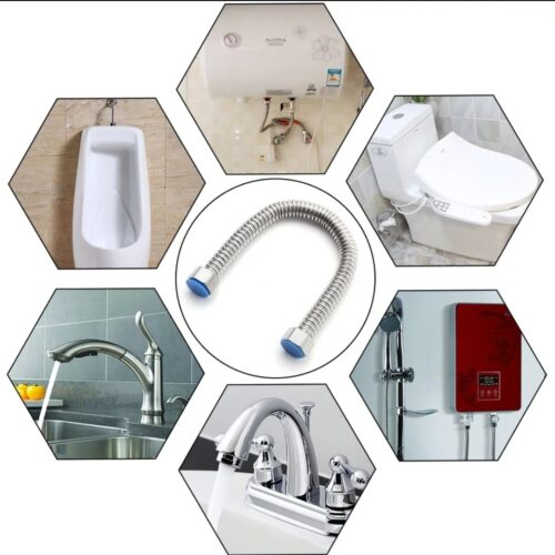 Racord inox alimentare apa 1/2 filet interior baterii sanitare