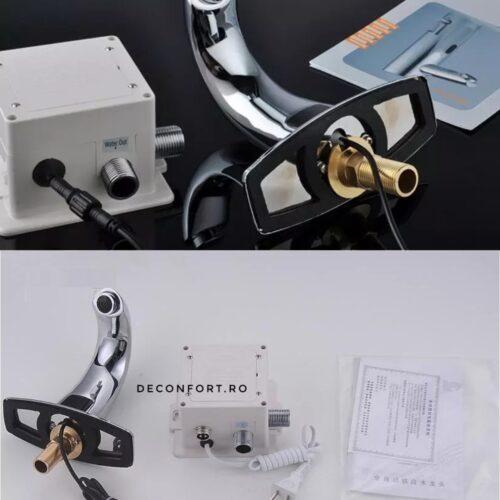 Senzor lavoar actionare automata fara atingere montare chiuveta