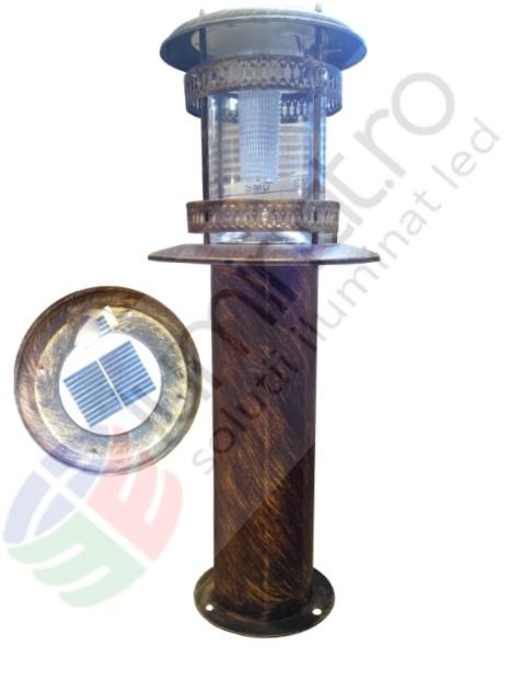 Stalp led solar 1.5w antichizat