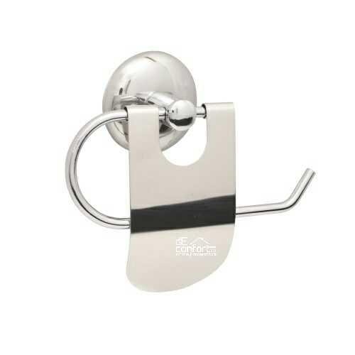 Suport metalic cromat hartie igienica Melissa - capac mic