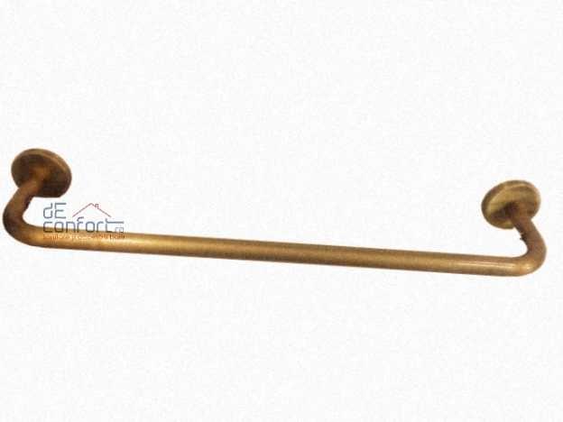 Suport prosop bara simpla bronz anticchizat - Roma
