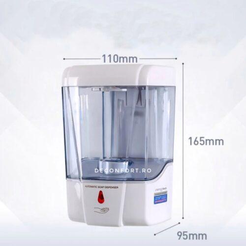Dispenser detergent lichid dezinfectant senzor SPsense