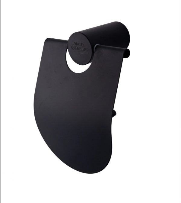 Suport rola hartie igienica negru AGS alama aspect mat
