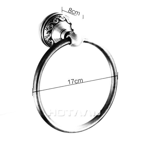 Suport prosop inel aluminiu antichizat AGS2