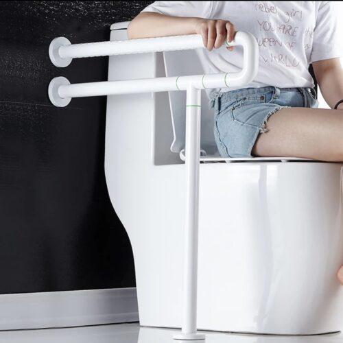 Maner rabatabil antibacterian dizabilitati picior suplimentar ALB