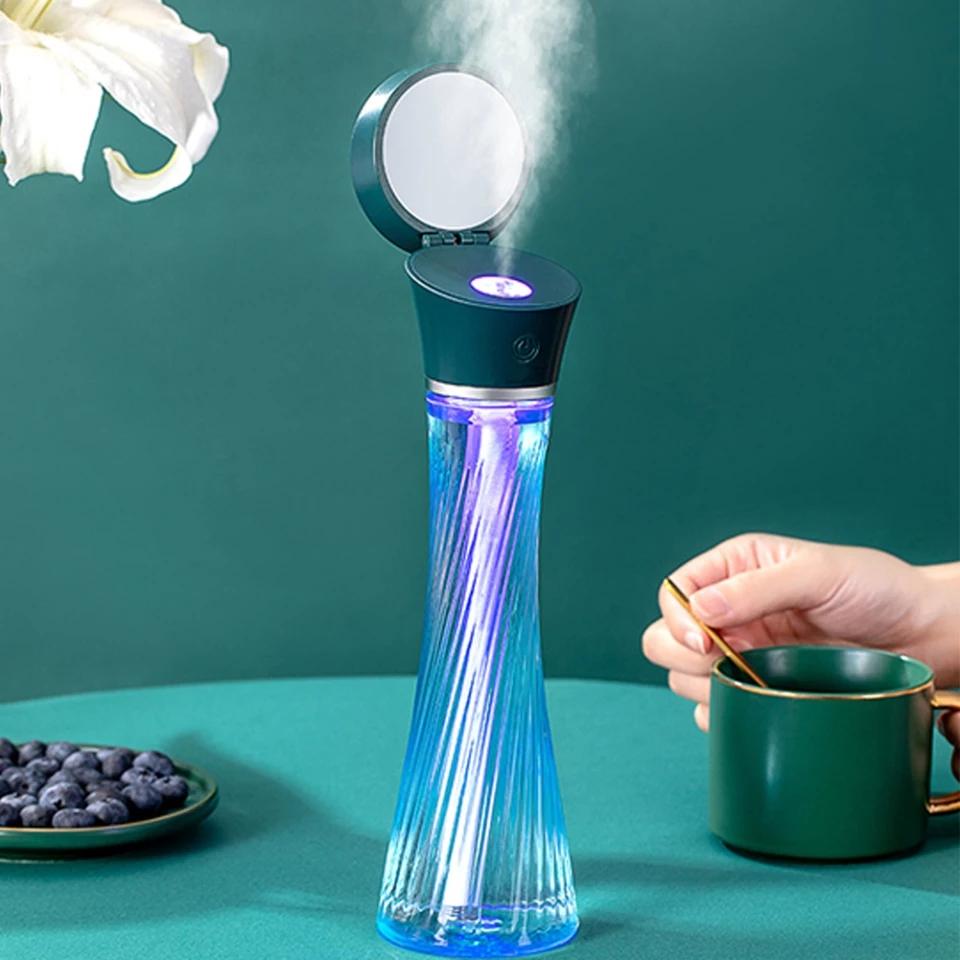 Umidificator portabil USB Magic Tower difuzor de aromă