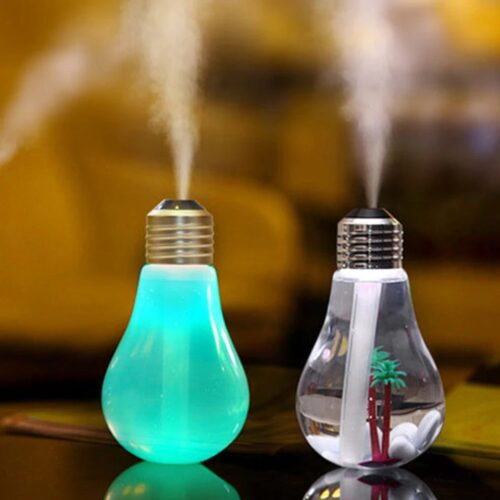 Umidificator difuzor uleiuri aromate bec lumina led Bulb