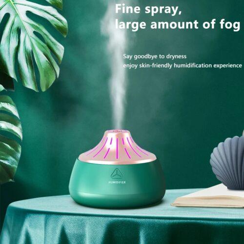 Umidificator uleiuri esențiale aromaterapie Lava Green