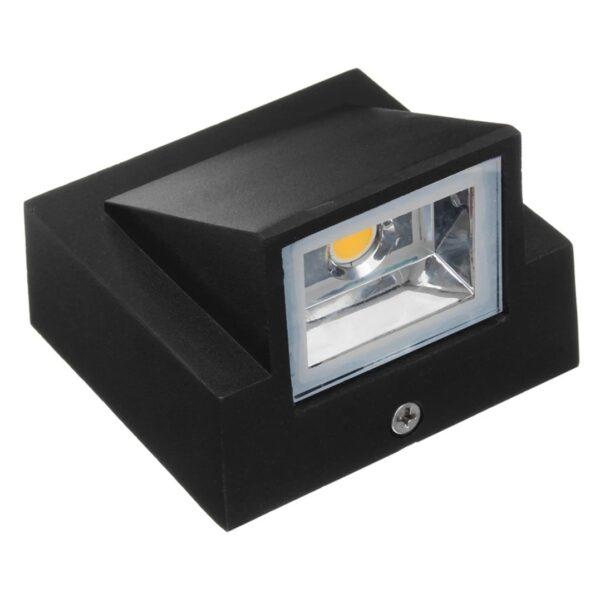 Lampa solară exterior led metalica aplicata