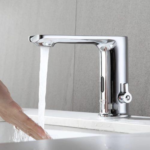 Baterie senzor chiuveta baie profesionala maneta reglare temperatura